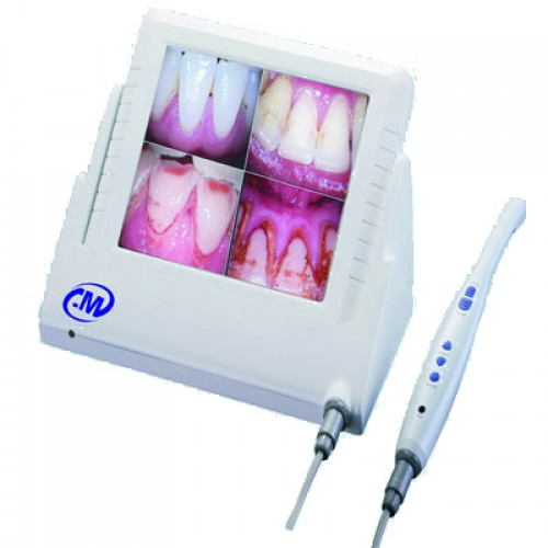 Wired Song CCD Dental Cámara intraoral 8PulgadaLCD Monitor M-868