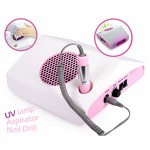Electric Nail Drill Dust Collector & UV Lámpara 3 in 1 Micromotor Dental