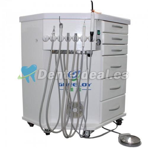 Cesta Unidad GREELOY® Dental Delivery System (Fotopolimerizador + Escalador + Triplex Syring)
