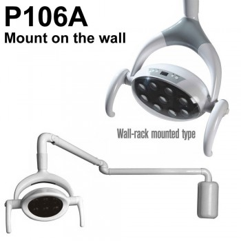 Lámpara LED Saab® P106A dental Paciente Luz Oral (montaje en la pared)