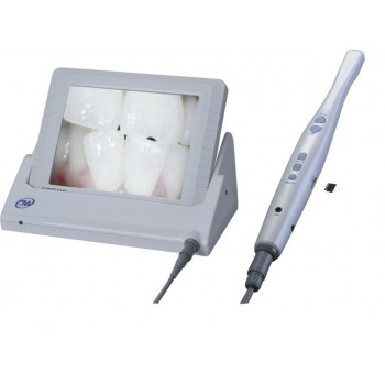Cámara intraoral alambrica dental CMOS con tarjeta SD Monitor de video LCD de 8 pulgadas M-868A