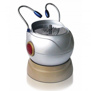 JT-37 Tipo de Pelota Arco trimmer para laboratorio dental con 2 led de luz