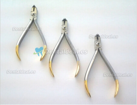 3pcs Distal End Cutter Hold Plier Dental Orthodontic Pliers Instruments