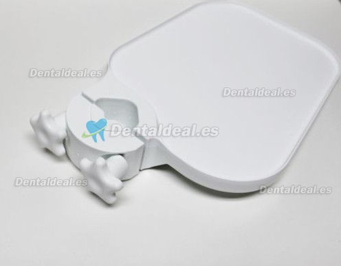 TPC Pole Post Mount Utulity Access Shelf Tray Table DENTAL MEDICAL WHITE