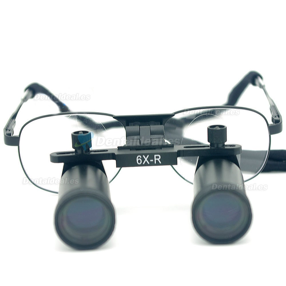 Ymarda 6.0X 420mm Loupe binoculaire dentaire loupes chirurgicales médicales Armature en métal