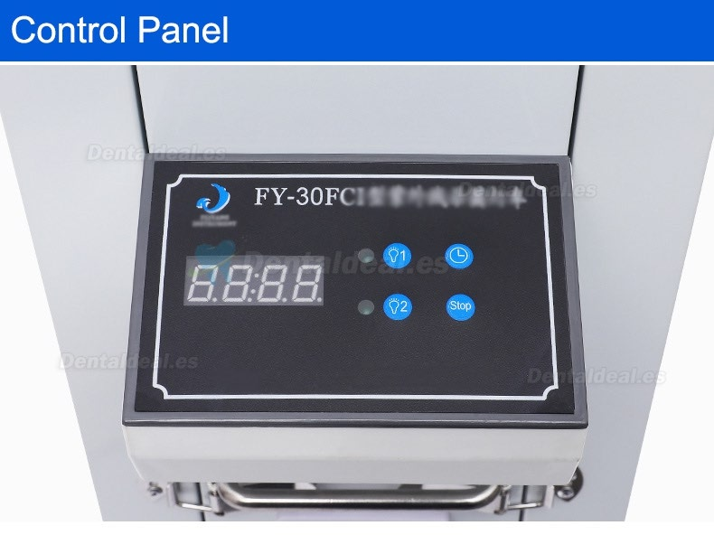 FY 120W-220W Portable UV+Ozone Disinfection Lamp Ultraviolet Sterilizer Trolley 253.7nm