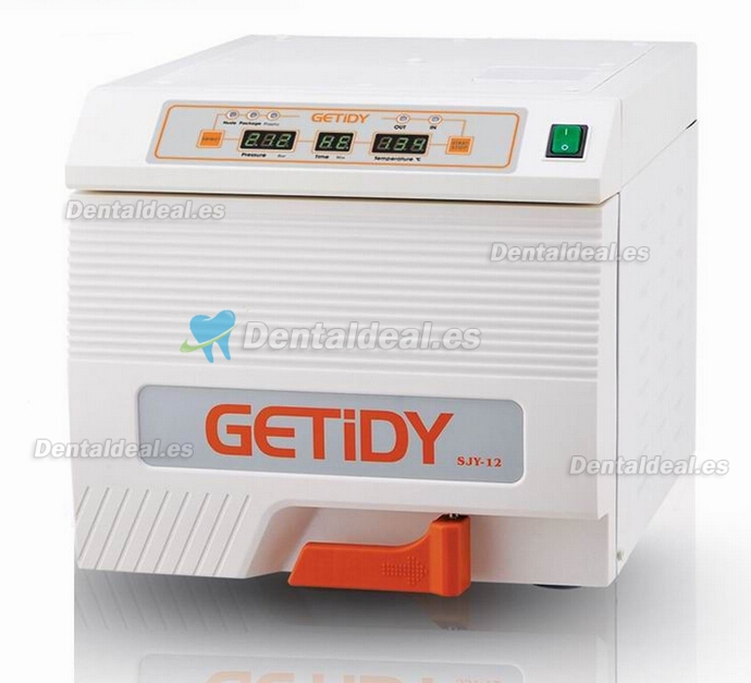 12L Getidy® Dental Steam Autoclave Sterilizer Class B SJY-12L